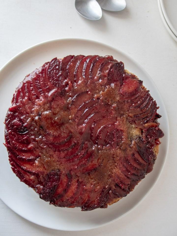 plum vegan cannabiscake