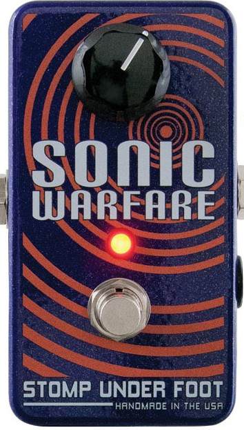 Pedal de Fuzz: Sonic Warfare