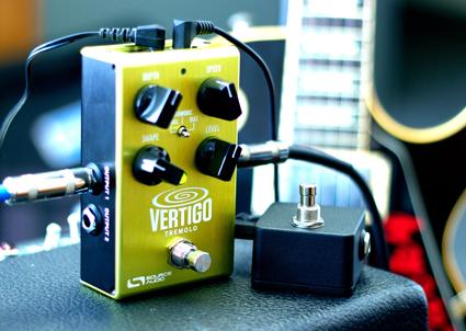 Vertigo, pedal de tremolo da Source Audio.