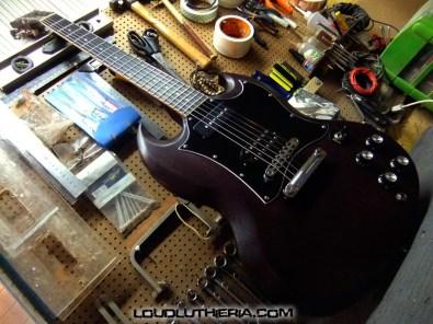 Sg Gibson customizada