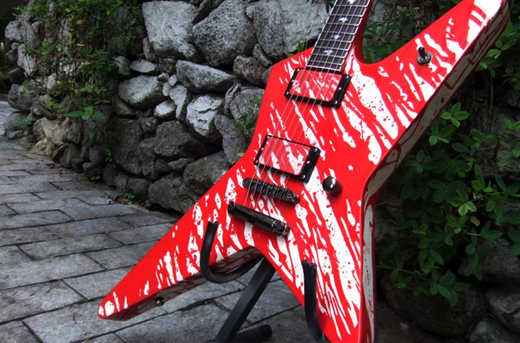 Ltd blood splated finish