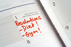 Resolutions on Calendar