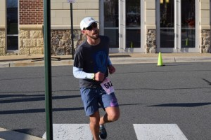 Andrew Assur, of Chantilly, was the top finisher in the 2016 Ribbon Run 5K, with a time of 18:35.