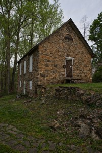 UNITED STATES - April 22, 2016: Along Brooks Lane in Lincoln Virginia is the post Civil War era Grace Methodist Episcopal Church that was built by Quakers and African-Americans in the community and was one of the first legal black churches to be built in Lincoln. (Photo by Douglas Graham/Loudoun Now)