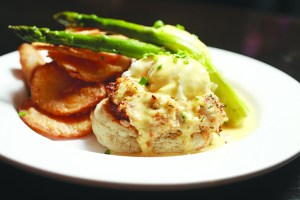 Ford's Fish Shack restaurants in Ashburn and South Riding draw crowds with seafood favorites along with more traditional brunch fare. The restaurant's bacon bloody Mary has a devoted local following. [Courtesy of Ford's Fish Shack]