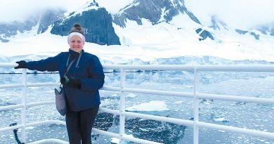 Back from the Bottom of the World: Woodgrove's Addie Schafer Shares Her Antarctic Adventure