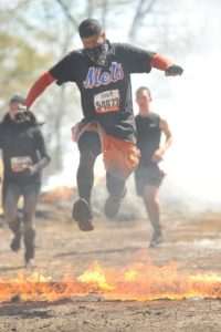 Tough Mudder Fire Jump
