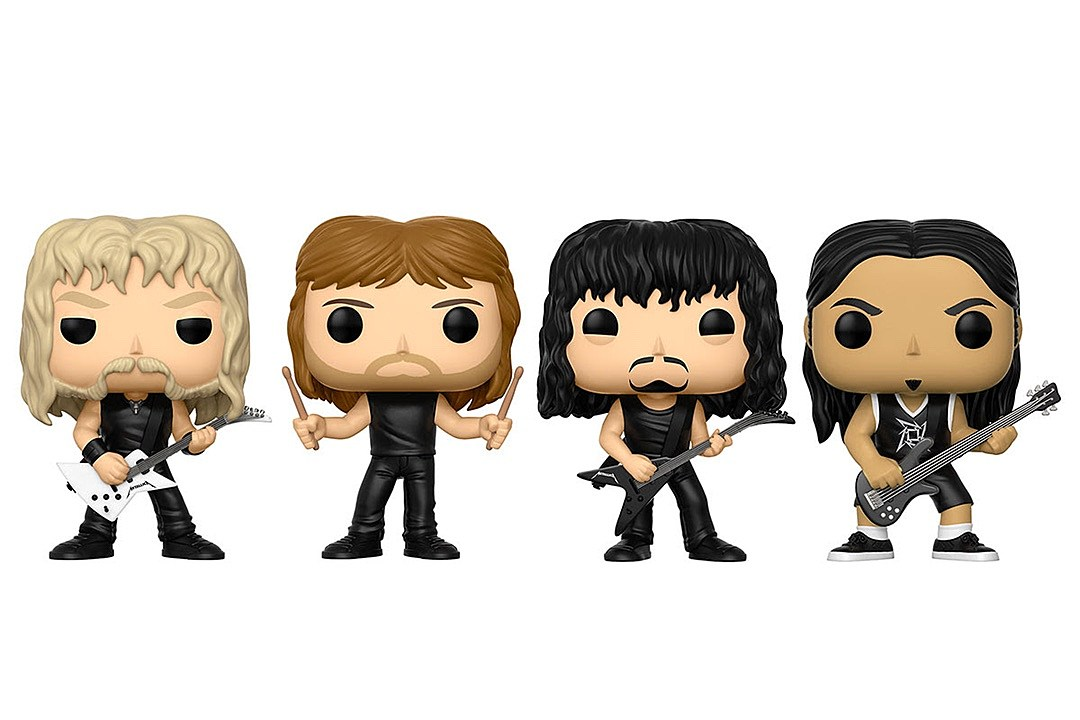 Metallica Funko Pop! Vinyl Figures Coming This August