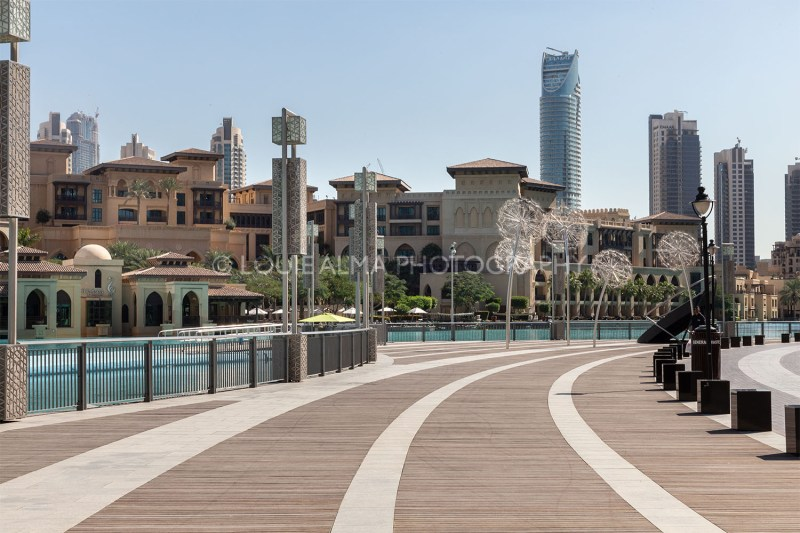 Burj Boulevard at Dubai, United Arab Emirates | Photo by Louie Alma