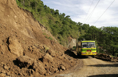 The Halsema Highway is one of the focuses of the NRIMP project.
