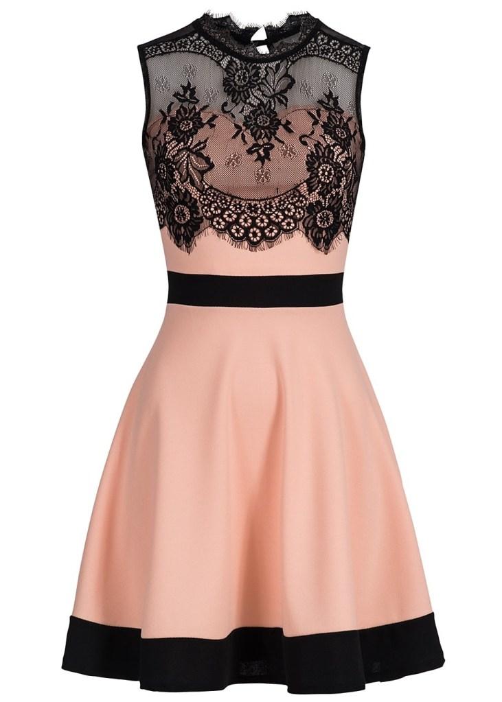 10 Luxus Kleid Schwarz Spitze für 2019 - Abendkleid