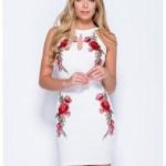 Großartig Weißes Kleid Langarm ÄrmelAbend Genial Weißes Kleid Langarm für 2019