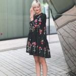 20 Elegant Schwarzes Kleid Mit Blumen Galerie15 Schön Schwarzes Kleid Mit Blumen Design
