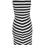 20 Kreativ Kleid Schwarz Weiß Gestreift Ärmel Schön Kleid Schwarz Weiß Gestreift Galerie
