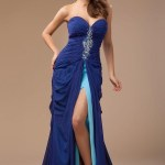Formal Coolste Kleider Für Hochzeitsgäste Blau ÄrmelAbend Coolste Kleider Für Hochzeitsgäste Blau Bester Preis