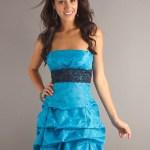 Formal Schön Kleid Hochzeitsgast Blau SpezialgebietDesigner Genial Kleid Hochzeitsgast Blau Stylish