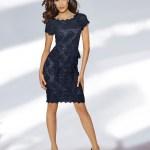 Abend Coolste Blaues Spitzenkleid Ärmel10 Perfekt Blaues Spitzenkleid Design