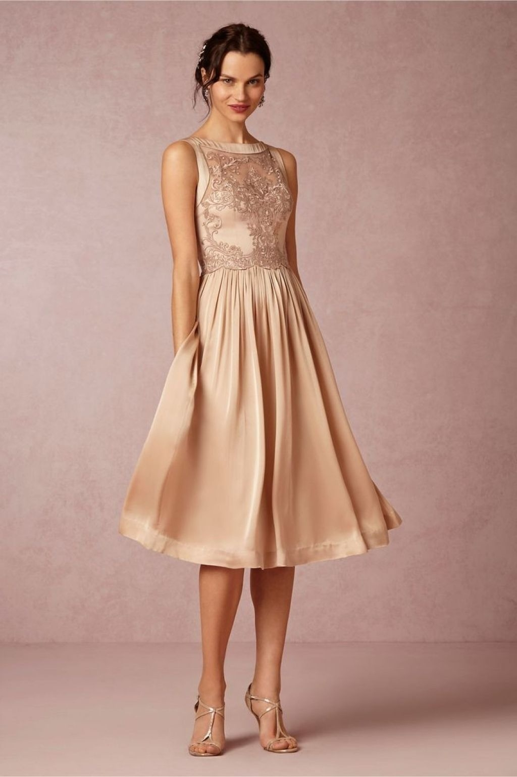 Kleid knielang festlich spitze