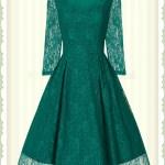 Schön Grünes Kleid Mit Spitze Bester Preis13 Wunderbar Grünes Kleid Mit Spitze Galerie