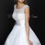 Formal Wunderbar Elegante Weiße Kleider ÄrmelDesigner Wunderbar Elegante Weiße Kleider Boutique