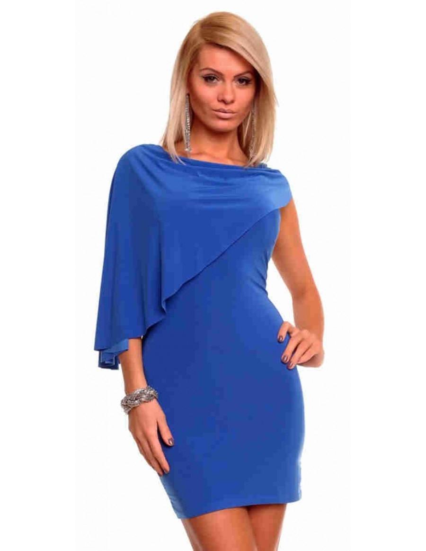 Kleid blau schwarz oder weiss
