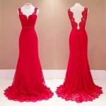 15 Schön Abendkleid Rot Spitze Lang für 201913 Genial Abendkleid Rot Spitze Lang für 2019
