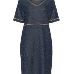 Designer Luxurius Kleid Blau Mit Punkten Ärmel17 Spektakulär Kleid Blau Mit Punkten für 2019