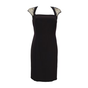 Elegant Schwarzes Kleid Mit Spitze ÄrmelAbend Erstaunlich Schwarzes Kleid Mit Spitze Spezialgebiet