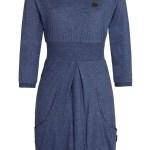Designer Luxus Kleid Blau Langarm Design Schön Kleid Blau Langarm Design