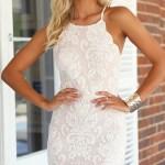 Formal Großartig Weißes Kleid Elegant Bester PreisDesigner Erstaunlich Weißes Kleid Elegant Spezialgebiet
