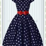 10 Ausgezeichnet Kleid Blau Mit Punkten für 201915 Wunderbar Kleid Blau Mit Punkten Galerie