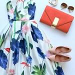 Designer Erstaunlich Blumenkleider Damen SpezialgebietAbend Elegant Blumenkleider Damen Bester Preis