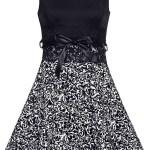Abend Fantastisch Damen Kleid Schwarz Weiß Stylish10 Einzigartig Damen Kleid Schwarz Weiß Spezialgebiet