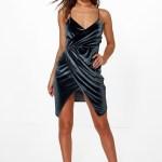 Wunderbar Wickelkleid Abendkleid SpezialgebietAbend Cool Wickelkleid Abendkleid Boutique