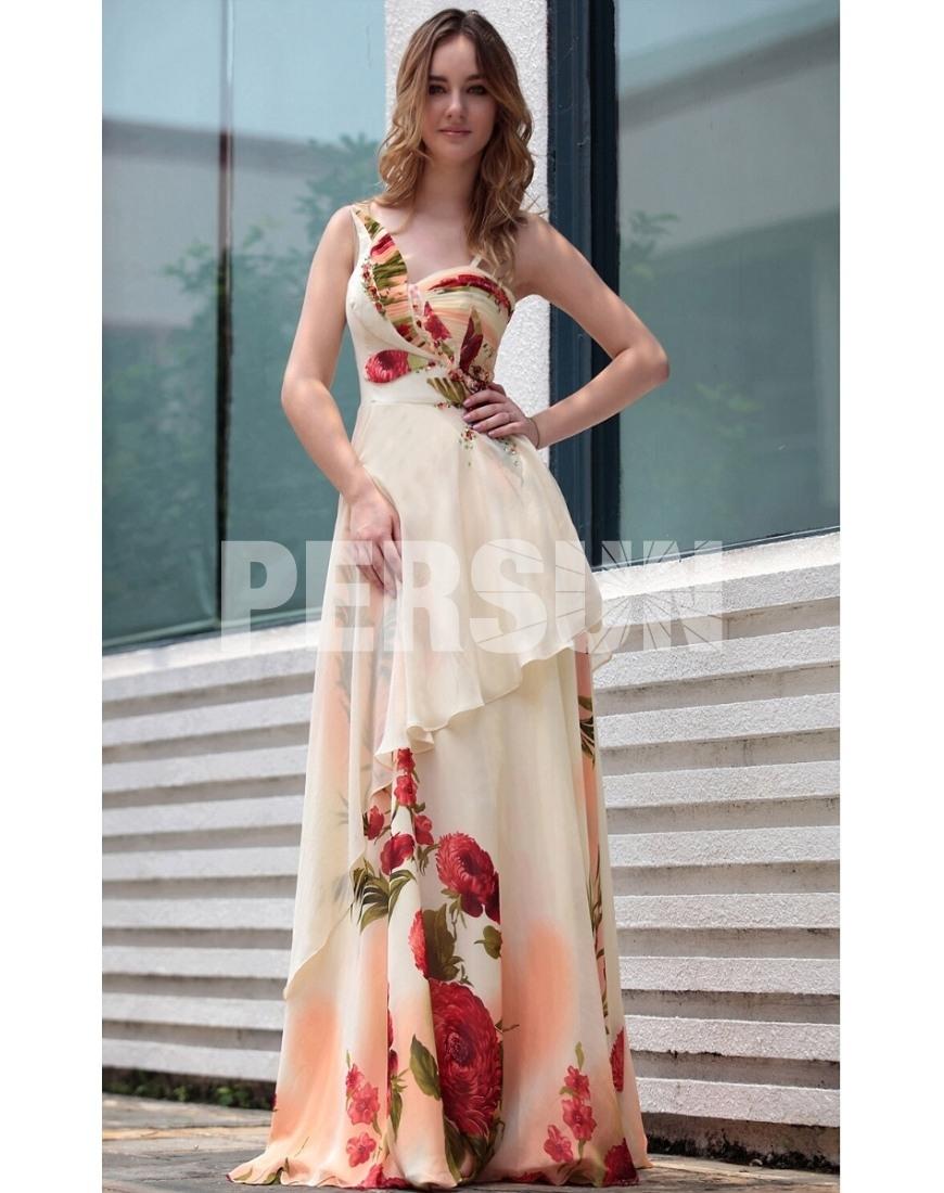 Kleid lang blumen
