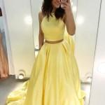 Designer Luxus Gelbes Festliches Kleid Galerie Großartig Gelbes Festliches Kleid Vertrieb