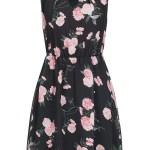 Designer Genial Kleid Schwarz Blumen Design13 Großartig Kleid Schwarz Blumen Bester Preis
