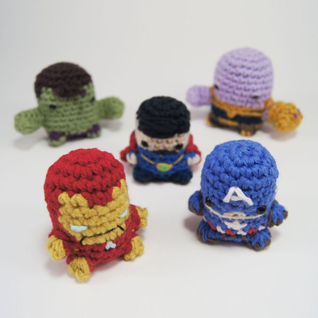 Crocheted Avengers
