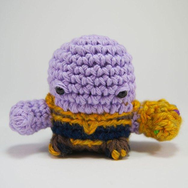 Crocheted Thanos