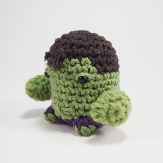 The Hulk Crocheted