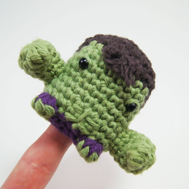 The Hulk Crocheted