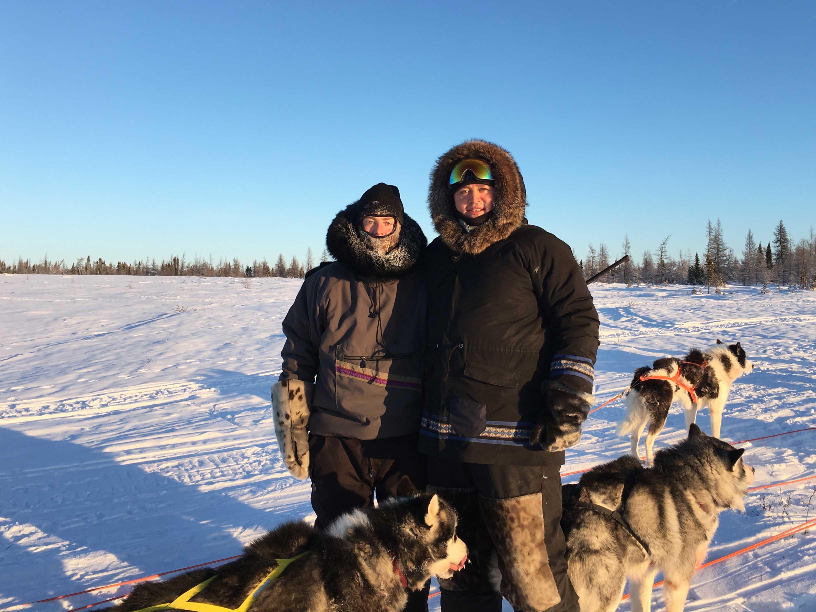 merci aux inuit du nunavik louis de gouyon matignon et les inuit