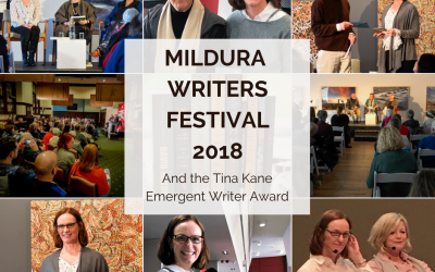 Mildura Writers Festival and the Tina Kane Emergent Writer Award
