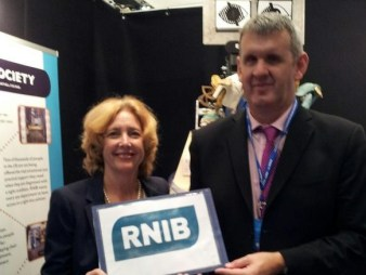 Supporting the great work the RNIB do