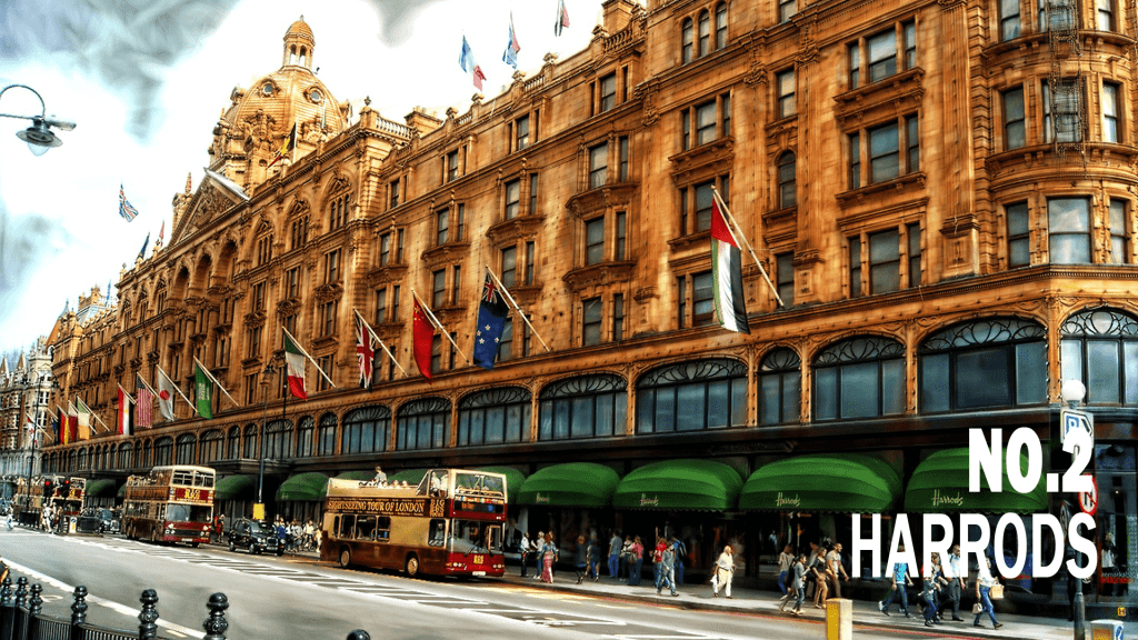 Five Fast Facts about The Missing Activist. Fact 2: Harrods in Knightsbridge is the luxury department store where Karen Andersen's nemesis Zinah al-Rashid meets her first recruit in The Missing Activist. It was set up as a one-room outlet in 1849 by Charles Harrod and today houses 330 and is owned by the state of Qatar.