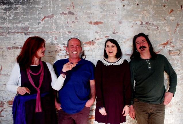 Amanda, Quentin, Louise and Richard