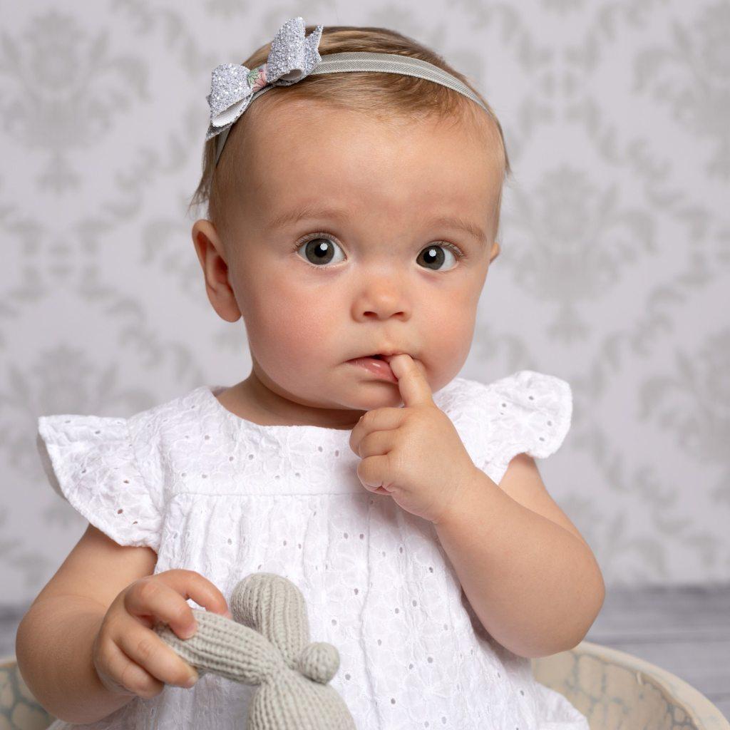 Baby girl photographed in Haywards Heath