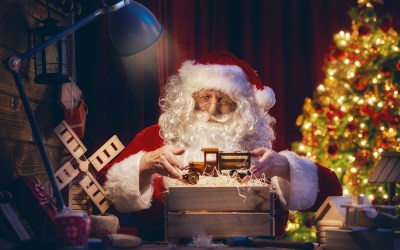 Where to see Santa in Mid Sussex