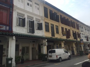 Chinatown shophouses