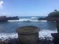 View outside Pura Batu Ngaus